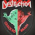 Destruction - Patch - Destruction - Cracked Brain Backpatch