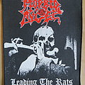 Morbid Angel - Leading the Rats BackPatch & Vinyl/Poster Madness