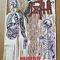 Death - Patch - Death - Human Backpatch Blue Grape 1991