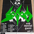another night of Sodom Tourposter 91 Other Collectable