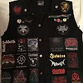 My battle vest so far Battle Jacket