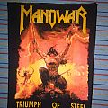Manowar - Patch - Manowar Triumph of steel