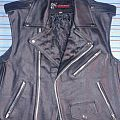 Leather Vest - Battle Jacket - Leather vest