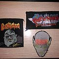 Destruction - Patch - Destruction,kreator and saxon patches