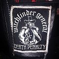 "Witchfinder General ""Death Penalty"" patch"