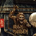 Iron Maiden - Pin / Badge - Iron Maiden no prayer on the Road/Hooks in you pin