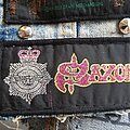 Saxon - Patch - Saxon strong arm of the law