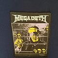 Megadeth Countdown to Extinction Back Patch