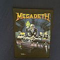 Megadeth Rust In Peace Back Patch