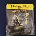 Megadeth Mary Jane Back Patch