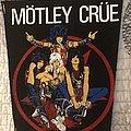 Mötley Crüe - Patch - Motley crue back patch