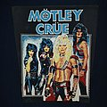 motley Crue Back patch