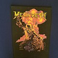 Megadeth  Peace Sells  back patch