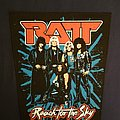 Ratt back patch