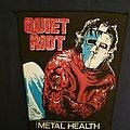 Quiet riot back patch
