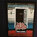 Metal church. The Dark back patch