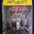 Anthrax back patch