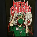 Metal church back patch