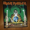 Iron Maiden The Clairvoyant  Backpatch