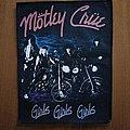 Mötley Crüe - Patch - Motley Crue Girls Girls Girls Back Patch