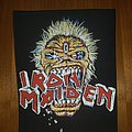 Iron Maiden  Crunch  Backpatch