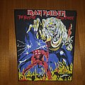 Iron Maiden Back Patch Number Of The Beast