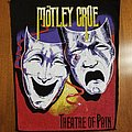 Motley Crue theater of Pain  back Patch
