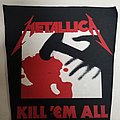 Metallica Kill'em All Backpatch