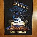 Judas Priest - Patch - Judas Priest ram It Down  Back Patch