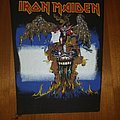 Iron Maiden The Evil That  Men Do Backpatch