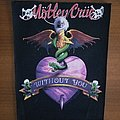 Motley Crue Without You Back Patch
