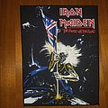 Iron Maiden Beast On The Road  Back Patch