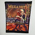 Megadeth back patch