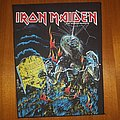 Iron Maiden Live After Death back patch