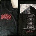 Blood Incantation - Interdimensional Passages Through Europe 2017 Tour Hoodie Hooded Top