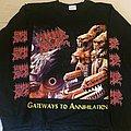 Morbid Angel - Gateways To Annihilation European Christmas Festival Tour 2000 Longsleeve TShirt or Longsleeve