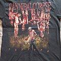 Cannibal Corpse - TShirt or Longsleeve - Cannibal Corpse - Australian Torture tour 2012 shirt