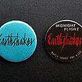 Earthshaker - Pin / Badge - Earthshaker - Logo And Midnight Flight Button