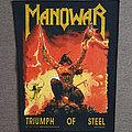 Manowar - Patch - Manowar - Triumph Of Steel Backpatch
