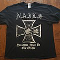 Nails - TShirt or Longsleeve - Nails Iron Cross shirt