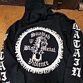Watain - Hooded Top - Watain Custom Zip Up Hoodie