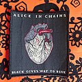 Alice In Chains - Patch - Alice In Chains Black Gives Way To Blue Patch