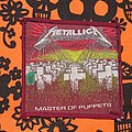 Metallica Master Of Puppets Patch Red Border