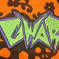 Green and purple Gwar patch
