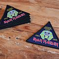 Iron Maiden World Slavery Tour triangle patch