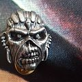Iron maiden pin Patch