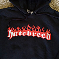 Hatebreed - Hooded Top - Hatebreed 1998 tour hoodie