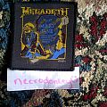 "Patch - Megadeth ""mary jane"" vintage patch"