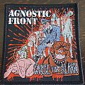 Agnostic Front - cause for alarm Patch