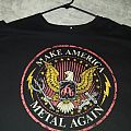 "Black Sabbath - TShirt or Longsleeve - Ozzfest 2016 ""Make America Metal Again"" shirt"